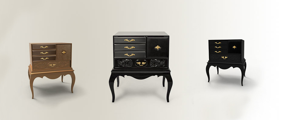 BROOKLYN Bedside Table Boca do Lobo