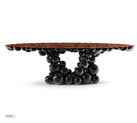 Newton Black Walnut Dining Table BOCA DO LOBO Love Happens
