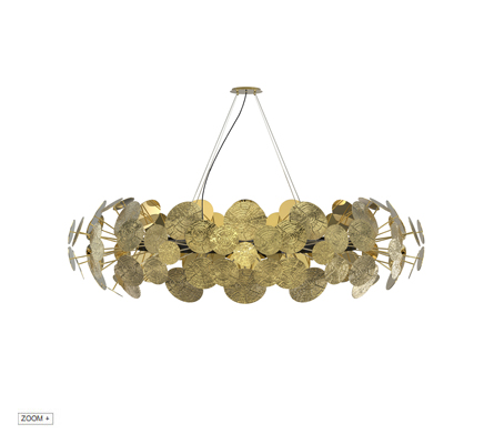 NEWTON  Chandelier Boca do Lobo