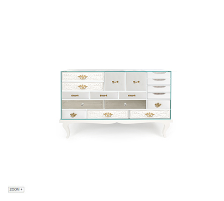 SOHO WHITE Sideboard Boca do Lobo