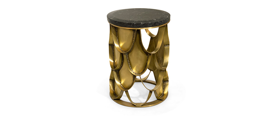 Koi Side Table  Brabbu Love Happens