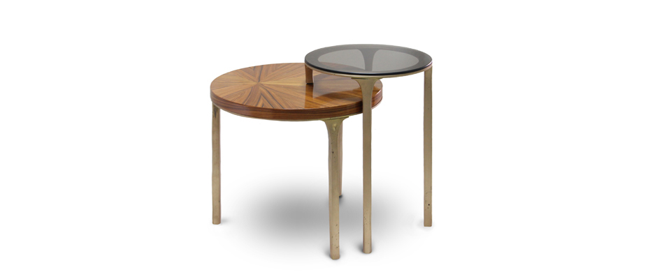 Luray Side Table  Brabbu Love Happens