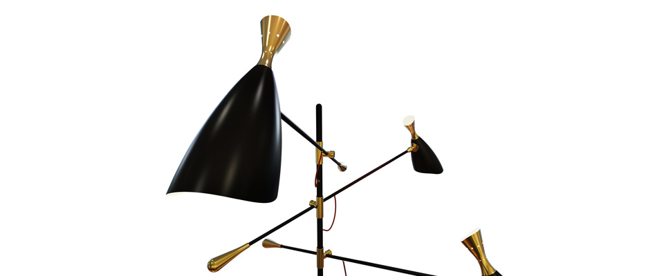DUKE Floor Lamp by Delightfull