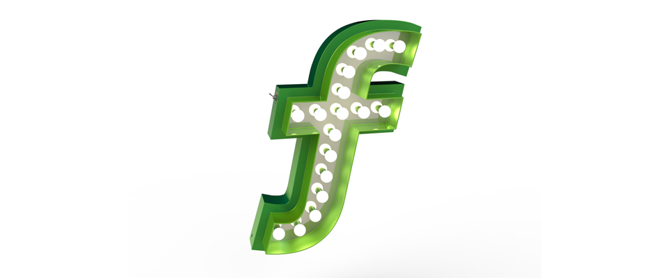F | LETTER GRAPHIC LAMPS by DELIGHTFULL