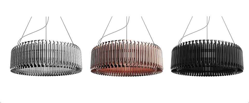 MATHENY Suspension Lamp by Delightfull