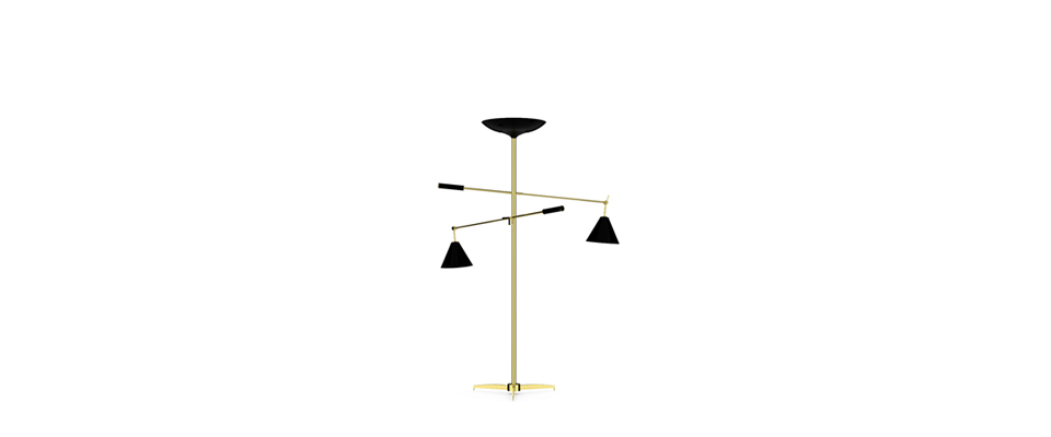TORCHIERE Floor Lamp by Delightfull
