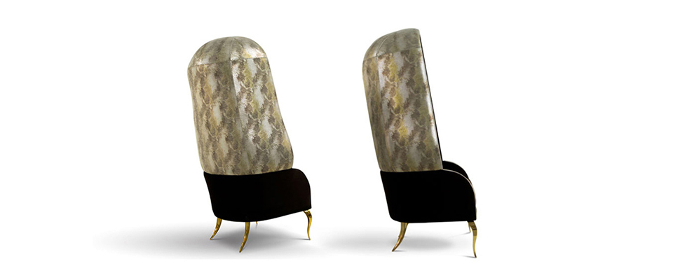 DRAPESSE Armchair by Koket