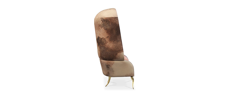 DRAPESSE2 Armchair by Koket