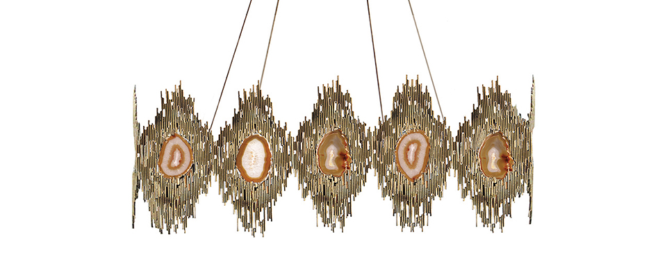 VIVRE RECTANGULAR CHANDELIER by Koket