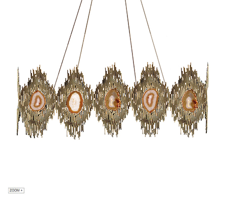 VIVRE RECTANGULAR Chandelier Koket
