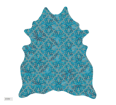 DAYS OF OLD TURQUOISE Rug by Miyabi Casa