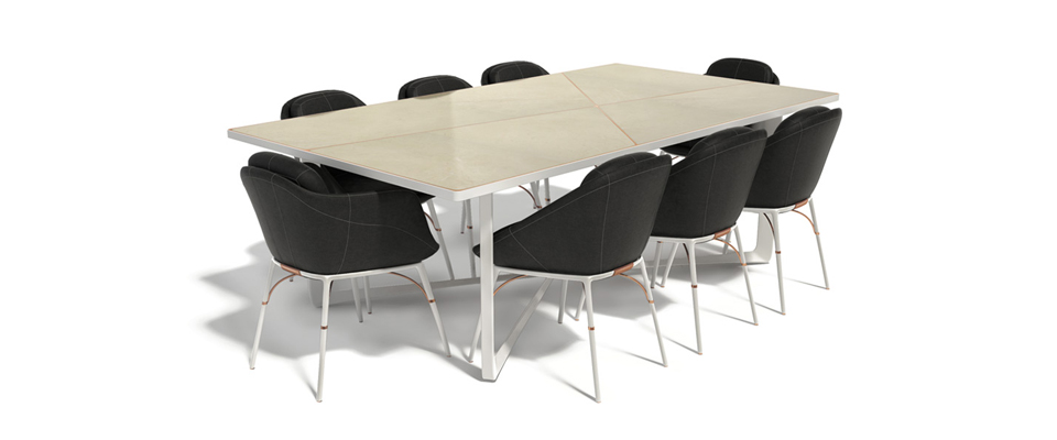 NERO Dining Table by MYFACE