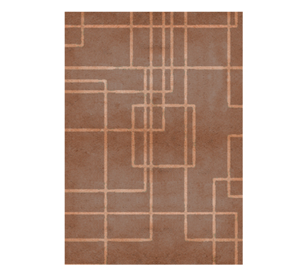Terracotta Rug RUG'SOCIETY Love Happens