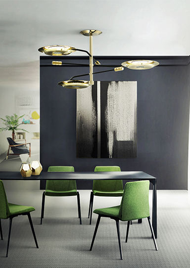 HENDRIX SUSPENSION LAMP by Delightfull