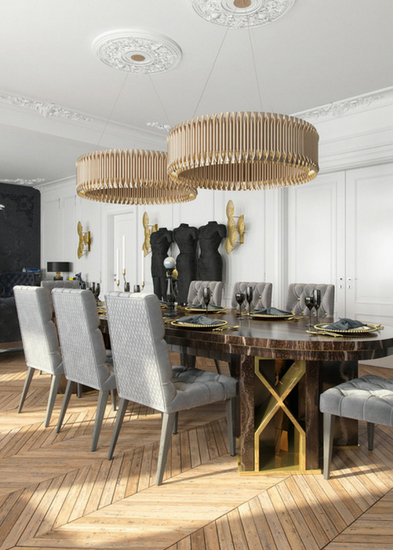 MATHENY ROUND CHANDELIER by DelightFULL