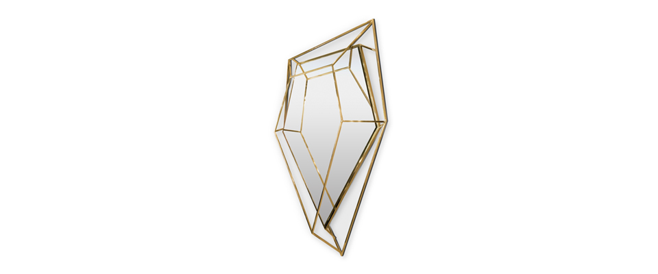Diamond  Mirror  Essential Home Love Happens