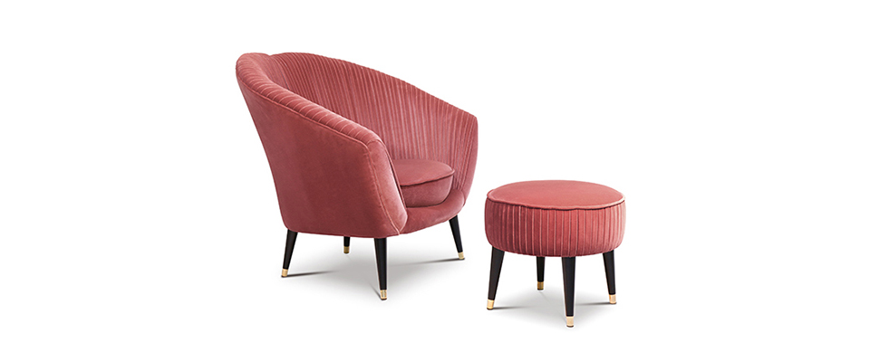 AUDREY Armchair by Koket