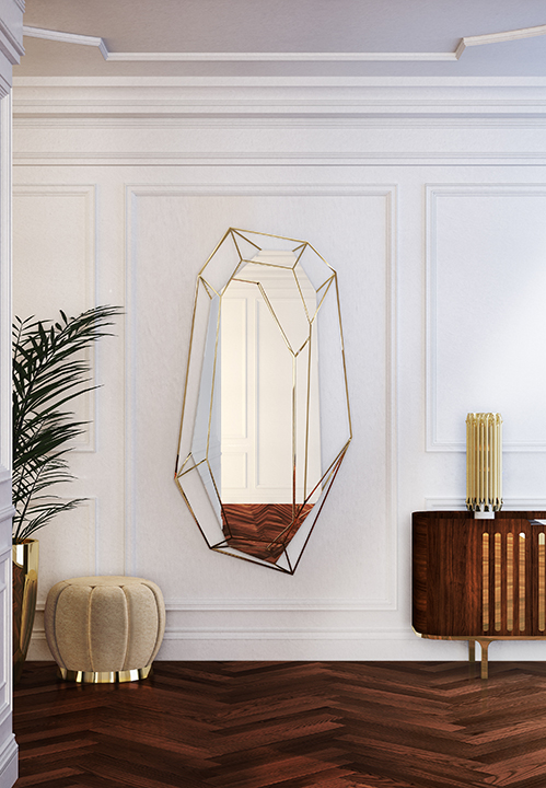 DIAMOND BIG MIRROR by Essential Home