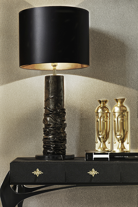 RUCHE TABLE LAMP by KOKET